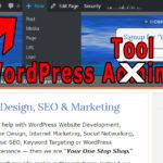 Customizing the WordPress Tool Bar