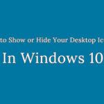 Hide Desktop Icons and Taskbar in Webinars
