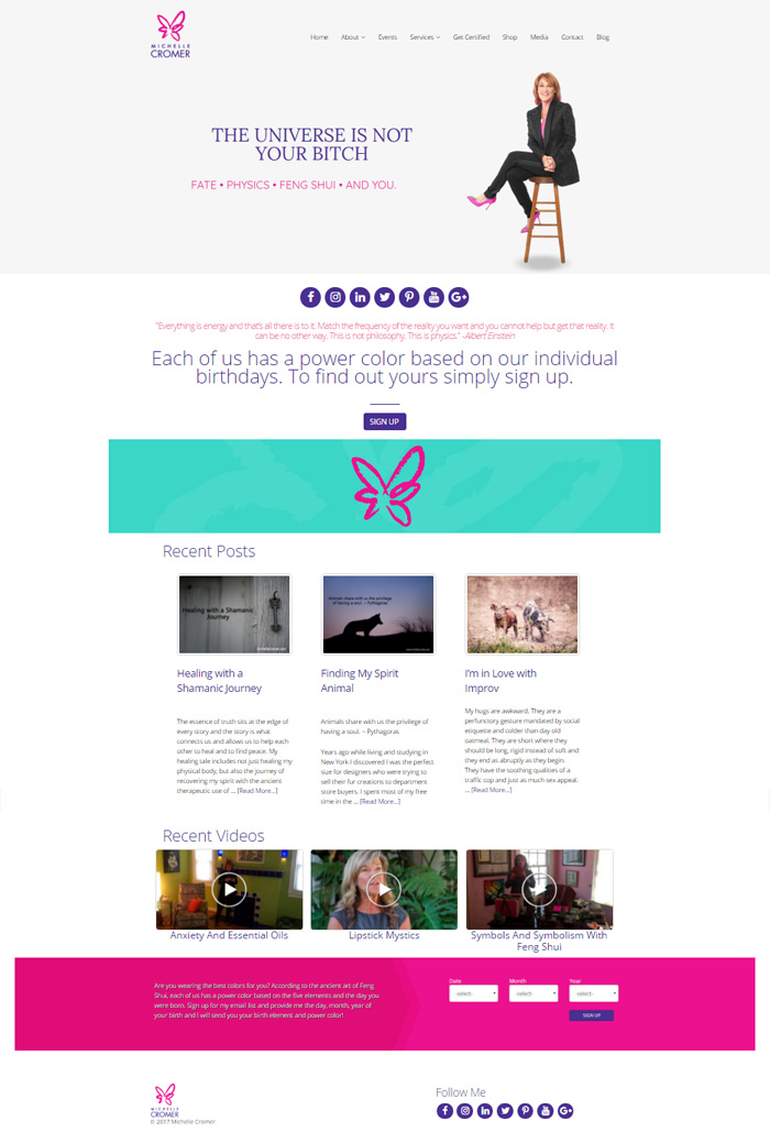 WordPress Website Remodel